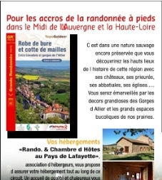 "f1373f51c99 9 dagen wandelen in de Auvergne (individuele rondreis 163km) GR® pays ""Robe"